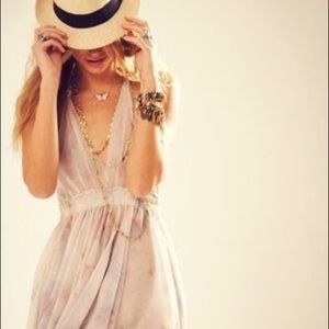 Love shack fancy halter dress